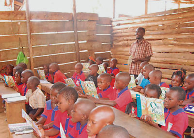Mirembe Literacy Program - Children in the classroom