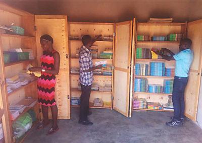 Mirembe Literacy Program - The library